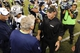 Aug 29, 2013; Seattle, WA, USA; Seattle Seahawks head coach Pete Carroll (left) and Oakland Raiders head coach Dennis Allen shake hands after the game at CenturyLink Field. Seattle defeated Oakland 22-6. Mandatory Credit: Steven Bisig-USA TODAY Sports