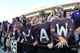Aug 30, 2013; Manhattan, KS, USA; Kansas State Wildcats fans cheer before the start of a game against the North Dakota State Bison at Bill Snyder Family Stadium. The Wildcats lost the game 24-21. Mandatory Credit: Scott Sewell-USA TODAY Sports