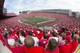 Aug 31, 2013; Madison, WI, USA; A general view of Camp Randall Stadium during the third quarter of the game between the Massachusetts Minutemen and Wisconsin Badgers.  Wisconsin won 45-0.  Mandatory Credit: Jeff Hanisch-USA TODAY Sports