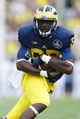 Aug 31, 2013; Ann Arbor, MI, USA; Michigan Wolverines tight end Devin Funchess (19) runs the ball second half against the Central Michigan Chippewas at Michigan Stadium. Michigan won 59-9. Mandatory Credit: Rick Osentoski-USA TODAY Sports