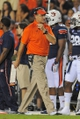 Aug 31, 2013; Auburn, AL, USA; Auburn Tigers head coach Gus Malzahn walks the sidelines during the second half of the game against the Washington State Cougars at Jordan Hare Stadium. The Tigers defeated the Cougars 31-24. Mandatory Credit: Shanna Lockwood-USA TODAY Sports