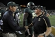 Aug 31, 2013; Waco, TX, USA; Baylor Bears head coach Art Briles and Wofford Terriers head coach Mike Ayers shake hands after the game at Floyd Casey Stadium. The Bears defeated the Terriers 69-3. Mandatory Credit: Jerome Miron-USA TODAY Sports