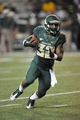 Aug 31, 2013; Waco, TX, USA; Baylor Bears running back Shock Linwood (32) runs with the ball against the Wofford Terriers during the second half of the game at Floyd Casey Stadium. The Bears defeated the Terriers 69-3. Mandatory Credit: Jerome Miron-USA TODAY Sports