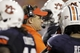 Aug 31, 2013; Auburn, AL, USA; Auburn Tigers head coach Gus Malzahn talks to his team during a timeout during the second half against the Washington State Cougars at Jordan Hare Stadium.  The Tigers beat the Cougars 31-24. Mandatory Credit: John Reed-USA TODAY Sports