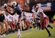 Aug 31, 2013; Auburn, AL, USA; Auburn Tigers wide receiver Sammie Coates (18) makes a catch in spite of the defense of Washington State Cougars cornerback Anthony Carpenter (4) at Jordan Hare Stadium. The Tigers defeated the Cougars 31-24. Mandatory Credit: Shanna Lockwood-USA TODAY Sports