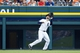 Sep 1, 2013; Detroit, MI, USA; Detroit Tigers left fielder Nick Castellanos (30) makes a catch of a fly ball hit by Cleveland Indians second baseman Jason Kipnis (not pictured) in the eighth inning at Comerica Park. Cleveland won 4-0. Mandatory Credit: Rick Osentoski-USA TODAY Sports