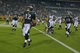 Aug 24, 2013; Jacksonville, FL, USA; Philadelphia Eagles running back Chris Polk (32) into the end zone to score the game-winning touchdown during the fourth quarter of their game against the Jacksonville Jaguars at EverBank Field. The Philadelphia Eagles beat the Jacksonville Jaguars 31-24. Mandatory Credit: Phil Sears-USA TODAY Sports