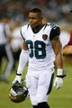 Aug 24, 2013; Jacksonville, FL, USA; Jacksonville Jaguars defensive back Antwon Blake (38) walks off the field in the second quarter of their game against the Philadelphia Eagles at EverBank Field. The Philadelphia Eagles beat the Jacksonville Jaguars 31-24. Mandatory Credit: Phil Sears-USA TODAY Sports