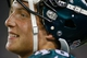Aug 24, 2013; Jacksonville, FL, USA; Philadelphia Eagles linebacker Travis Long (48) during the second quarter of their game against the Jacksonville Jaguars at EverBank Field. The Philadelphia Eagles beat the Jacksonville Jaguars 31-24. Mandatory Credit: Phil Sears-USA TODAY Sports