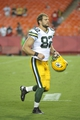 Aug 29, 2013; Kansas City, MO, USA; Green Bay Packers tight end Ryan Taylor (82) leaves the field after the game against the Kansas City Chiefs at Arrowhead Stadium. The Chiefs won 30-8. Mandatory Credit: Denny Medley-USA TODAY Sports