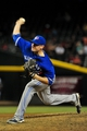 Sept 3, 2013; Phoenix, AZ, USA; Toronto Blue Jays relief pitcher Neil Wagner (45) throws during the sixth inning against the Arizona Diamondbacks at Chase Field. Mandatory Credit: Matt Kartozian-USA TODAY Sports