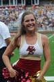 Aug 31, 2013; Boston, MA, USA; The Boston College Eagles cheerleaders during the second half against the Villanova Wildcats at Alumni Stadium. Mandatory Credit: Bob DeChiara-USA TODAY Sports