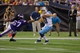 Aug 29, 2013; Minneapolis, MN, USA; Tennessee Titans quarterback Rusty Smith (11) evades the grasp of Minnesota Vikings defensive end Collins Ukwu (67) in the fourth quarter at Mall of America Field at H.H.H. Metrodome. Vikings win 24-23. Mandatory Credit: Bruce Kluckhohn-USA TODAY Sports