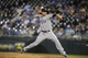 Sep 4, 2013; Kansas City, MO, USA; Seattle Mariners relief pitcher Danny Farquhar (40) delivers a pitch against the Kansas City Royals in the ninth inning at Kauffman Stadium. Seattle won the game 6-4. Mandatory Credit: John Rieger-USA TODAY Sports