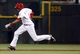 Sep 4, 2013; Cincinnati, OH, USA; Cincinnati Reds center fielder Billy Hamilton runs as he steals second base in the 14th inning against the St. Louis Cardinals at Great American Ball Park. St. Louis won 5-4 in 16 innings. Mandatory Credit: David Kohl-USA TODAY Sports