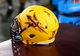 Sep 5, 2013; Tempe, AZ, USA; Detailed view of the helmet of Arizona State Sun Devils defensive tackle Will Sutton against the Sacramento State Hornets at Sun Devil Stadium. Mandatory Credit: Mark J. Rebilas-USA TODAY Sports