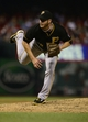 Sep 6, 2013; St. Louis, MO, USA; Pittsburgh Pirates relief pitcher Bryan Morris (29) throws to a St. Louis Cardinals batter during the seventh inning at Busch Stadium. Mandatory Credit: Jeff Curry-USA TODAY Sports