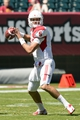 Sep 7, 2013; Philadelphia, PA, USA; Houston Cougars quarterback John O'Korn (5) passes the ball during the second quarter against the Temple Owls at Lincoln Financial Field. Mandatory Credit: Howard Smith-USA TODAY Sports