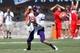 Sep 7, 2013; Blacksburg, VA, USA; Western Carolina Catamounts quarterback Eddie Sullivan (9) looks to pass the ball during the second quarter against the Virginia Tech Hokies at Lane Stadium. Mandatory Credit: Jeremy Brevard-USA TODAY Sports