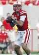 Sep 7, 2013; Lincoln, NE, USA; Nebraska Cornhuskers quarterback Taylor Martinez (3) looks to pass against the  Southern Mississippi Golden Eagles in the first quarter at Memorial Stadium. Mandatory Credit: Bruce Thorson-USA TODAY Sports