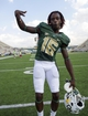 Sep 7, 2013; Waco, TX, USA; Baylor Bears wide receiver Tevin Reese (16) celebrates the win over the Buffalo Bulls at Floyd Casey Stadium. The Bears defeated the Bulls 70-13. Mandatory Credit: Jerome Miron-USA TODAY Sports