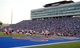 Sep 7, 2013; Lawrence, KS, USA; South Dakota Coyotes kicker Miles Bergner (16) punts against theKansas Jayhawks in the first half at Memorial Stadium. Mandatory Credit: John Rieger-USA TODAY Sports