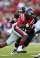 Sep 7, 2013; Oxford, MS, USA; Mississippi Rebels running back Jeff Scott (3) carries the ball during the first half against the Southeast Missouri State Redhawks at Vaught-Hemingway Stadium. Mandatory Credit: Spruce Derden-USA TODAY Sports