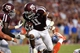 Sep 7, 2013; College Station, TX, USA; Texas A&M Aggies wide receiver Derel Walker (11) makes a reception during the second quarter against the Sam Houston State Bearkats at Kyle Field. Mandatory Credit: Troy Taormina-USA TODAY Sports