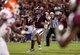 Sep 7, 2013; College Station, TX, USA; Texas A&M Aggies quarterback Kenny Hill (7) looks for an open receiver during the fourth quarter against the Sam Houston State Bearkats at Kyle Field. Mandatory Credit: Troy Taormina-USA TODAY Sports