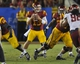 September 7, 2013; Los Angeles, CA, USA; Southern California Trojans quarterback Max Wittek (13) looks for an open receiver to pass to against the Washington State Cougars during the second half at the Los Angeles Memorial Coliseum. Mandatory Credit: Gary A. Vasquez-USA TODAY Sports