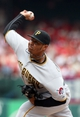 Sep 8, 2013; St. Louis, MO, USA;  Pittsburgh Pirates relief pitcher Stolmy Pimentel (38) pitches in the third inning against the St. Louis Cardinals at Busch Stadium. Mandatory Credit: Scott Kane-USA TODAY Sports