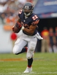 Sep 8, 2013; Chicago, IL, USA; Chicago Bears running back Matt Forte (22) runs with the ball during the second half against the Cincinnati Bengals at Soldier Field. Chicago won 24-21. Mandatory Credit: Dennis Wierzbicki-USA TODAY Sports