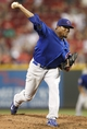 Sep 10, 2013; Cincinnati, OH, USA; Chicago Cubs starting pitcher Edwin Jackson (36) pitches during the third inning against the Cincinnati Reds at Great American Ball Park. Mandatory Credit: Frank Victores-USA TODAY Sports