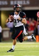 Sep 7, 2013; Oxford, MS, USA; Southeast Missouri State Redhawks quarterback Scott Lathrop (17) drops back to pass the ball during the game against the Mississippi Rebels at Vaught-Hemingway Stadium. Mississippi Rebels defeated the Southeast Missouri State Redhawks 31-13.  Mandatory Credit: Spruce Derden-USA TODAY Sports