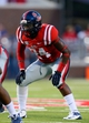 Sep 7, 2013; Oxford, MS, USA; Mississippi Rebels linebacker Keith Lewis (24) during the game against the Southeast Missouri State Redhawks at Vaught-Hemingway Stadium. Mississippi Rebels defeated the Southeast Missouri State Redhawks 31-13.  Mandatory Credit: Spruce Derden-USA TODAY Sports