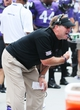 Sep 7, 2013; Fort Worth, TX, USA; TCU Horned Frogs head coach Gary Patterson yells at the bench during the game against the Southeastern Louisiana Lions at Amon G. Carter Stadium. Mandatory Credit: Kevin Jairaj-USA TODAY Sports