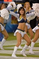 Sep 9, 2013; San Diego, CA, USA; San Diego Chargers cheerleaders perform during the second half against the Texans of at Qualcomm Stadium. Mandatory Credit: Robert Hanashiro-USA TODAY