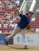 Sep 11, 2013; Cincinnati, OH, USA; Chicago Cubs starting pitcher Jeff Samardzija throws against the Cincinnati Reds in the first inning at Great American Ball Park. Mandatory Credit: David Kohl-USA TODAY Sports