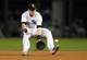 Sep 12, 2013; Chicago, IL, USA; Chicago White Sox second baseman Gordon Beckham fields a ground ball during the first inning against the Cleveland Indians at U.S Cellular Field. Mandatory Credit: Jerry Lai-USA TODAY Sports