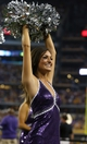 Aug 31, 2013; Arlington, TX, USA;Texas Christian Horned Frogs show girl performs on the sidelines during the game against the LSU Tigers at AT&T Stadium. Mandatory Credit: Matthew Emmons-USA TODAY Sports