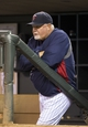Sep 13, 2013; Minneapolis, MN, USA; Minnesota Twins manager Ron Gardenhire looks on from the dugout during the fourth inning against the Tampa Bay Rays at Target Field. Mandatory Credit: Jesse Johnson-USA TODAY Sports