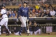 Sep 13, 2013; Minneapolis, MN, USA; Tampa Bay Rays third baseman Evan Longoria (3) walks back to the dugout after striking out for the second time in the eighth inning against the Minnesota Twins at Target Field. The Rays won 3-0. Mandatory Credit: Jesse Johnson-USA TODAY Sports