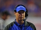 Sep 13, 2013; Boise, ID, USA; Air Force Falcons head coach Troy Calhoun during the second half against the Boise State Broncos at Bronco Stadium. Boise State defeated the Air Force 42-20. Mandatory Credit: Brian Losness-USA TODAY Sports