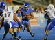Sep 13, 2013; Boise, ID, USA; Boise State Broncos running back Aaron Baltazar (29) runs the ball during the second half against the Air Force Falcons at Bronco Stadium. Boise State defeated the Air Force 42-20. Mandatory Credit: Brian Losness-USA TODAY Sports