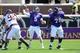 Sep 14, 2013; Greenville, NC, USA;  East Carolina Pirates quarterback Shane Carden (5) throws a pass against the Virginia Tech Hokies during the first half at Dowdy-Ficklen Stadium. Mandatory Credit: Rob Kinnan-USA TODAY Sports