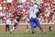 Sep 14, 2013; Norman, OK, USA; Oklahoma Sooners running back Keith Ford (21) runs with the ball during the game against the Tulsa Golden Hurricane at Gaylord Family - Oklahoma Memorial Stadium. Mandatory Credit: Kevin Jairaj-USA TODAY Sports
