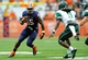 Sep 14, 2013; Syracuse, NY, USA; Syracuse Orange running back Jerome Smith (45) runs with the ball during the second quarter against the Wagner Seahawks at the Carrier Dome.  Mandatory Credit: Rich Barnes-USA TODAY Sports