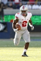 Sep 14, 2013; Berkeley, CA, USA; Ohio State Buckeyes running back Jordan Hall (2) runs with the ball against the California Golden Bears in the third quarter at Memorial Stadium. The Buckeyes defeated the Golden Bears 52-34. Mandatory Credit: Cary Edmondson-USA TODAY Sports
