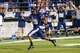 Sep 14, 2013; Logan, UT, USA; Utah State Aggies running back Joey DeMartino (28) runs down the field to score a touchdown during the 3rd quarter at Romney Stadium.  Utath State won 70-6.  Mandatory Credit: Chris Nicoll-USA TODAY Sports