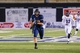 Sep 14, 2013; Logan, UT, USA; Utah State Aggies tight end Keegan Andersen (22) runs down the field for a touchdown during the 3rd quarter at Romney Stadium.  Utah State won 70-6. Mandatory Credit: Chris Nicoll-USA TODAY Sports